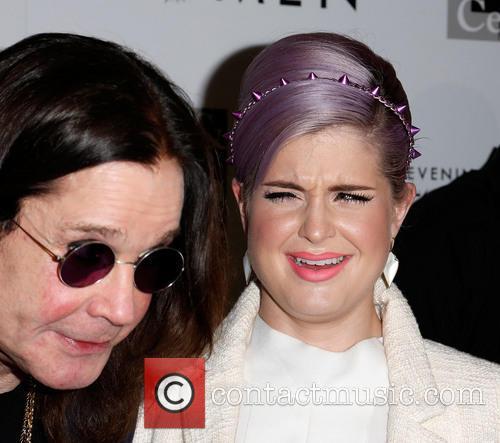 Ozzy Osbourne and Kelly Osbourne 3