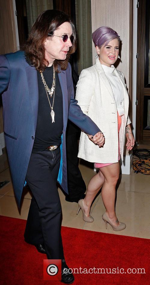 Ozzy Osbourne and Kelly Osbourne 1