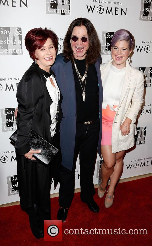Sharon Osbourne, Ozzy Osbourne and Kelly Osbourne 9