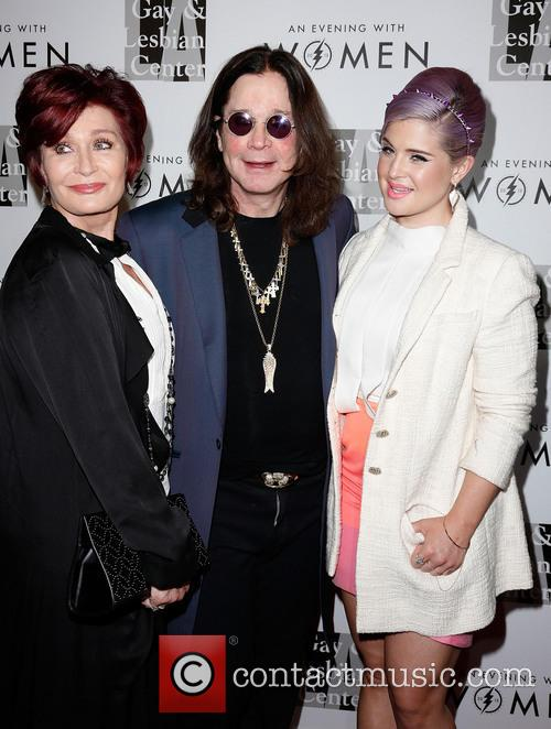 Sharon Osbourne, Ozzy Osbourne and Kelly Osbourne 11