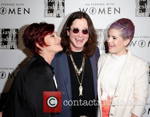 Sharon Osbourne, Ozzy Osbourne and Kelly Osbourne 5
