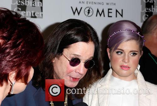 Sharon Osbourne, Ozzy Osbourne and Kelly Osbourne 6