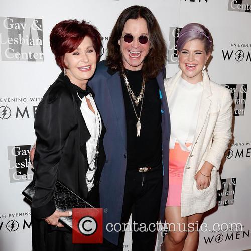 Sharon Osbourne, Ozzy Osbourne and Kelly Osbourne 7