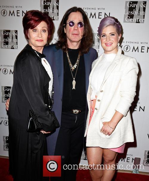 Sharon Osbourne, Ozzy Osbourne and Kelly Osbourne 8
