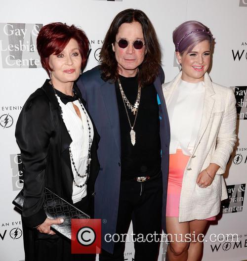 Sharon Osbourne, Ozzy Osbourne and Kelly Osbourne 9