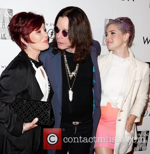 Sharon Osbourne, Ozzy Osbourne and Kelly Osbourne 12