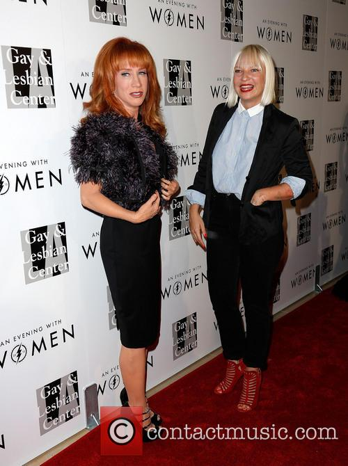 Kathy Griffin and Sia 10