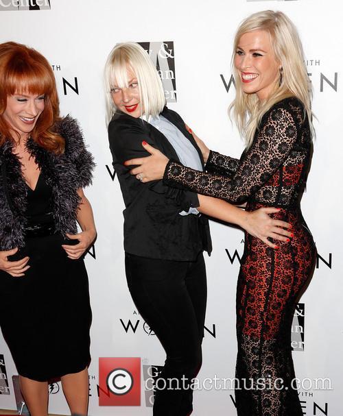 Kathy Griffin, Sia and Natasha Bedingfield 2