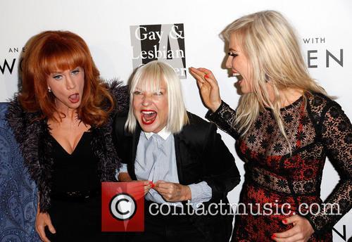 Kathy Griffin, Sia and Natasha Bedingfield 5