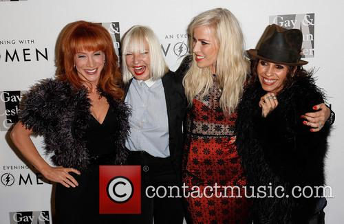 Kathy Griffin, Sia, Natasha Bedingfield and Linda Perry 3