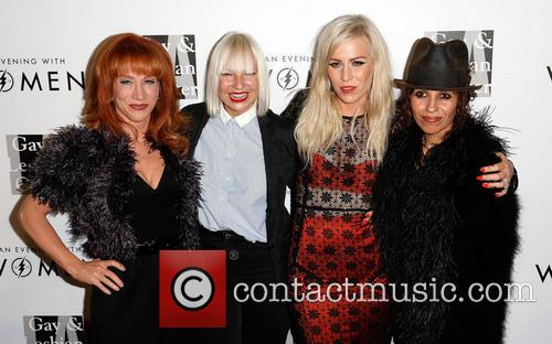 Kathy Griffin, Sia, Natasha Bedingfield and Linda Perry 9