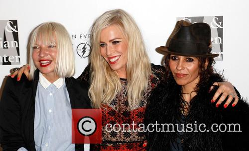 Sia, Natasha Bedingfield and Linda Perry 10