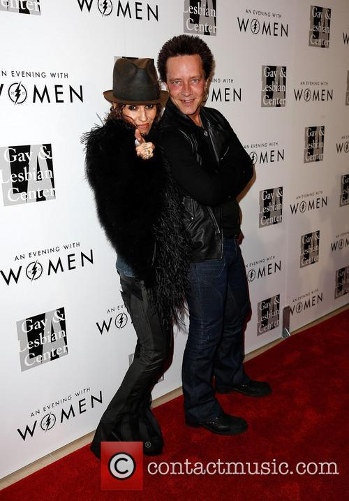 Linda Perry and Billy Morrison 2