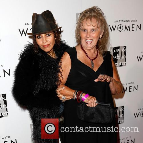 Linda Perry and Mother 7