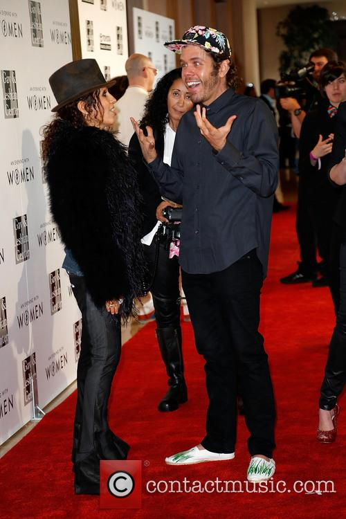 Linda Perry and Perez Hilton 6