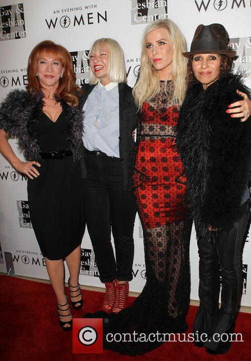 Kathy Griffin, Sia, Natasha Bedingfield and Linda Perry 1