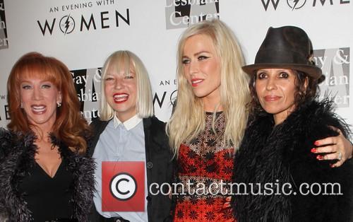 Kathy Griffin, Sia, Natasha Bedingfield and Linda Perry 8