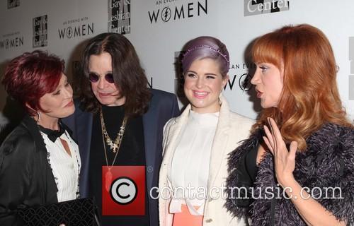 Sharon Osbourne, Ozzy Osbourne, Kelly Osbourne, Kathy Griffin, The Beverly Hilton, Beverly Hilton Hotel