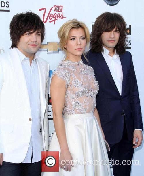 Billboard, Neil Perry, Kimberly Perry and Reid Perry 1
