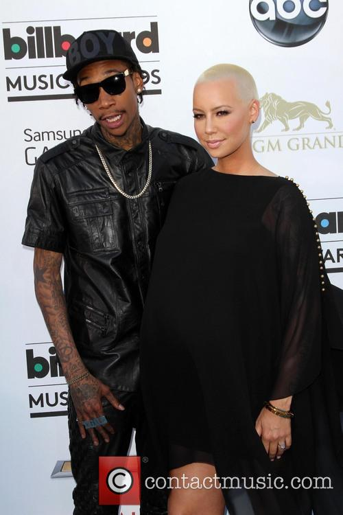Wiz Khalifa and Amber Rose 7