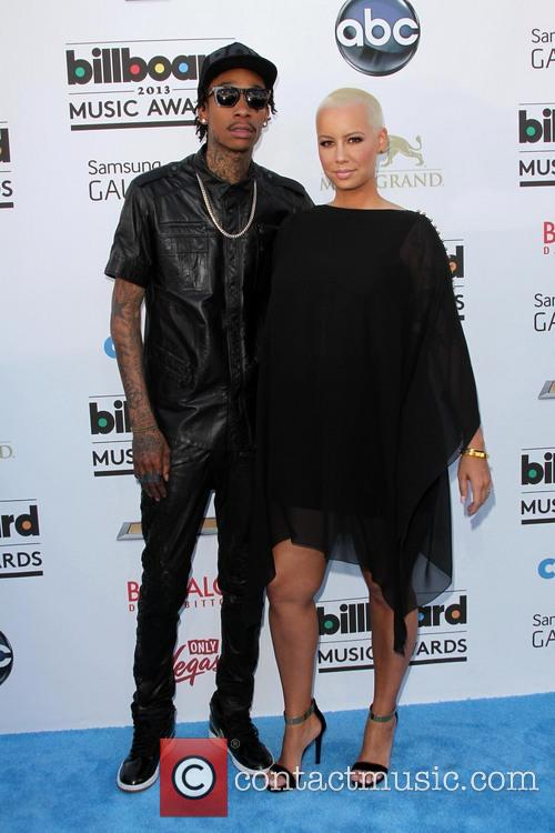 Wiz Khalifa and Amber Rose 9