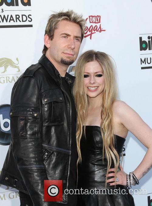 Chad Kroeger and Avril Lavigne 6