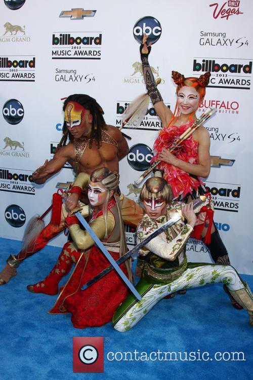 Billboard, Ka Performers from Cirque du Soliel, MGM Grand Garden Arena