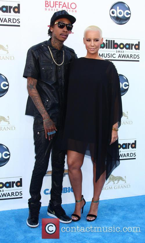 Wiz Khalifa, Amber Rose, MGM Grand Garden Arena