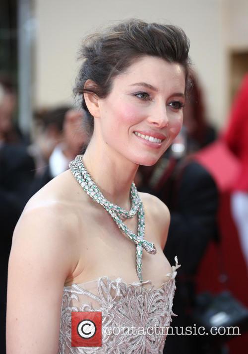 Jessica Biel Cannes