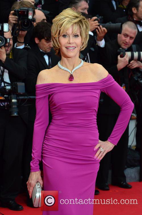 Jane Fonda Inside Llewyn Davis Premiere
