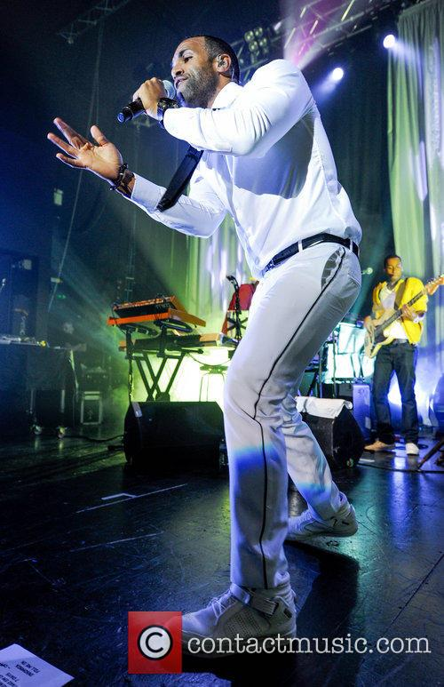 Craig David performs live at The Institute on...