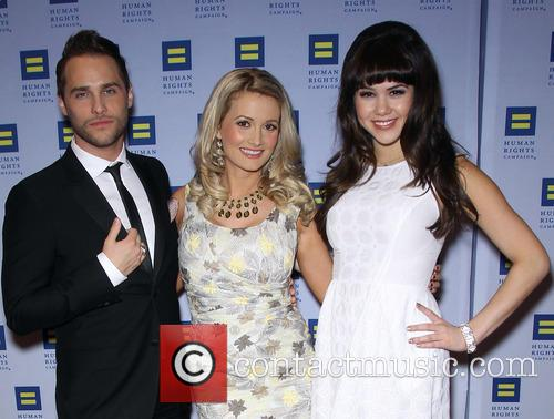 Josh Strickland, Holly Madison and Claire Sinclair 1