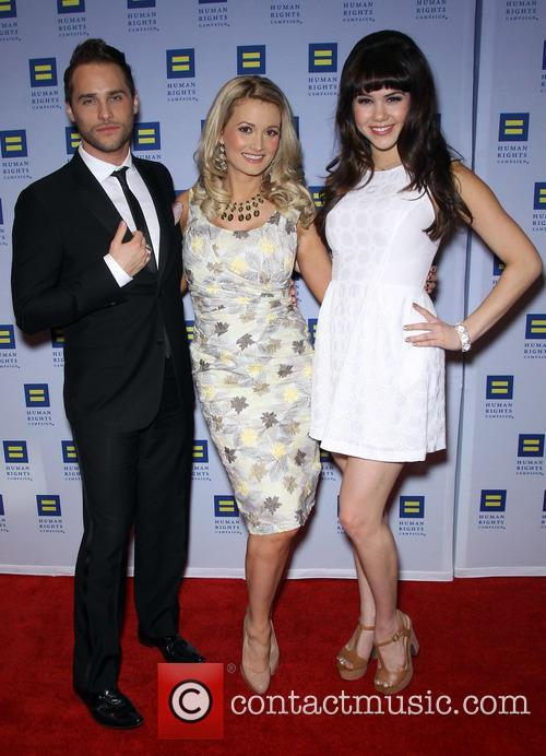 Josh Strickland, Holly Madison and Claire Sinclair 2