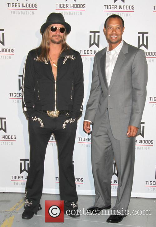 Kid Rock and Tiger Woods 9