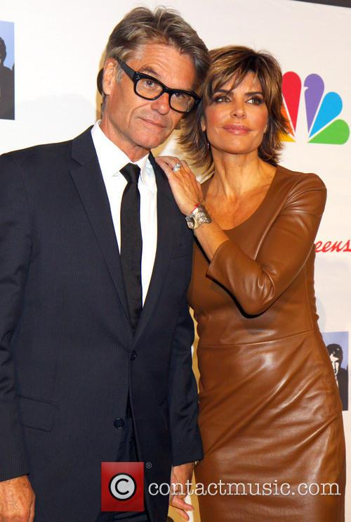 Lisa Rinna and Harry Hamlin 2