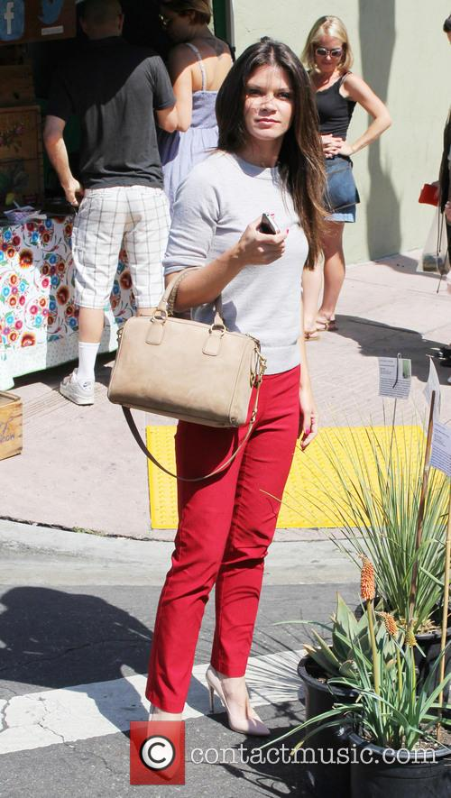 Celebrities at the Hollywood Farmers' Market