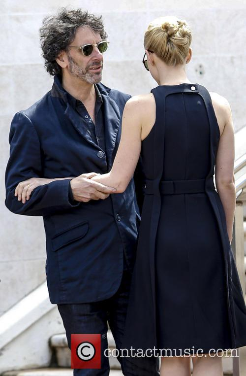 Joel Coen and Carey Mulligan