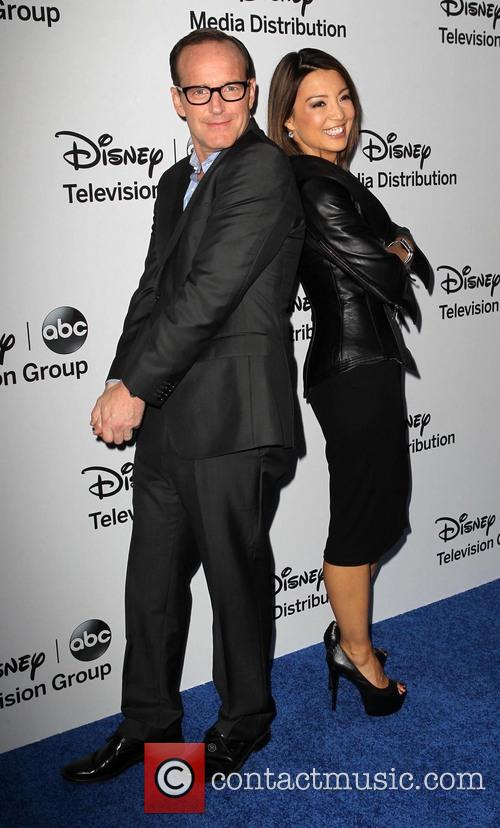 Clark Gregg and Ming-na Wen 3