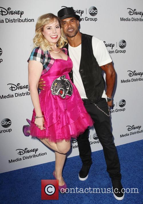 Kirsten Vangsness and Shemar Moore 7