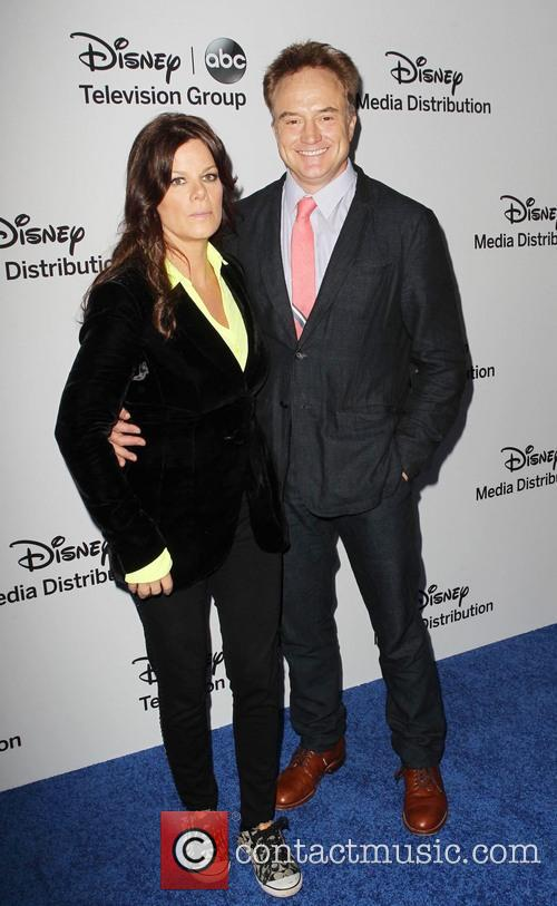 Marcia Gay Harden and Bradley Whitford 8