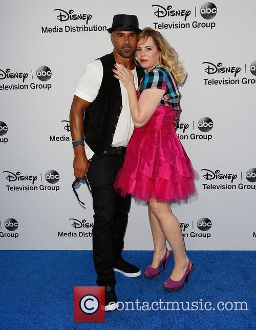 Shemar Moore and Kirsten Vangsness 4