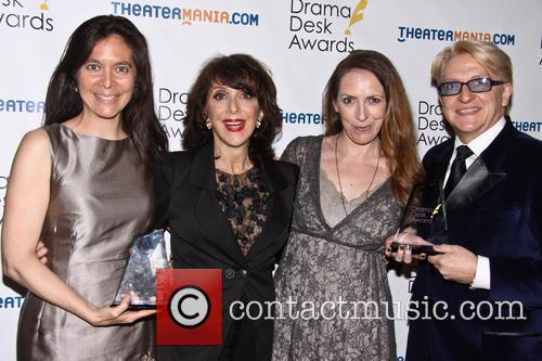 Diane Paulus, Andrea Martin, Chett Walker and Gypsy Snider 2