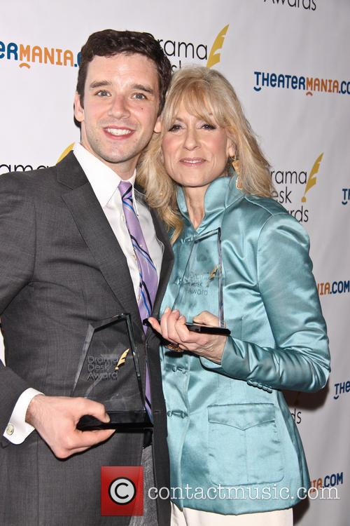 Michael Urie and Judith Light 2
