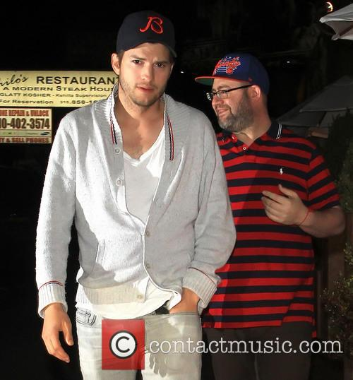 Ashton Kutcher and Yehuda Berg 6