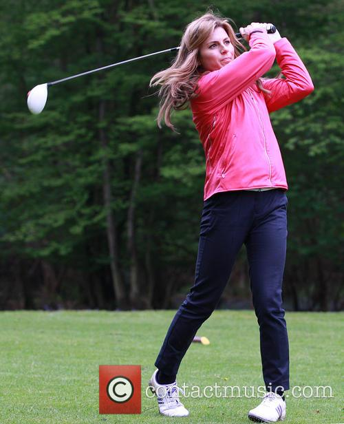 zoe hardman the mike tindall charity golf 3676581
