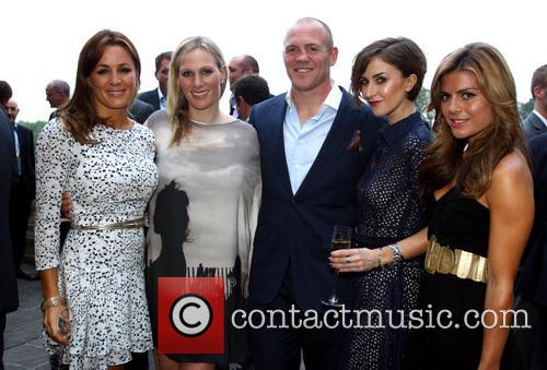 Natalie Pinkham, Katherine Kelly, Zoe Hardman, Mike Tindall and Zara Phillips 3