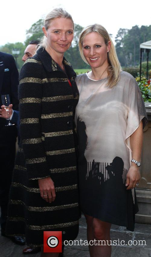 Zara Phillips and Jodie Kidd 1