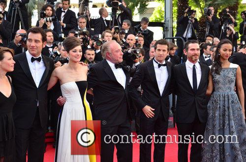 Clive Owen, Marion Cotillard, James Caan and Zoe Saldana 4