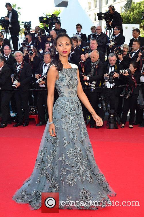 ZOE SALDANA, Cannes Film Festival