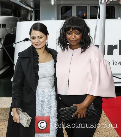 Melonie Diaz and Octavia Spencer 5